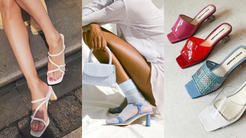 方頭拖鞋式涼鞋正夯!三家霸佔歐美時尚達人夏日穿搭版面的鞋履品牌大公開!