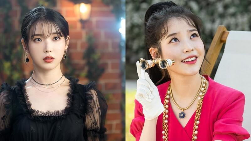 快學冷豔、典雅、高貴的氣質穿搭! IU在韓劇《德魯納酒店》一改鄰家女孩樣貌,服裝造型超百變