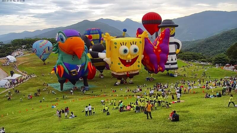 2019台東國際熱氣球嘉年華開跑啦!整整45天青空+星夜+光雕音樂會的滿滿感動(持續更新)