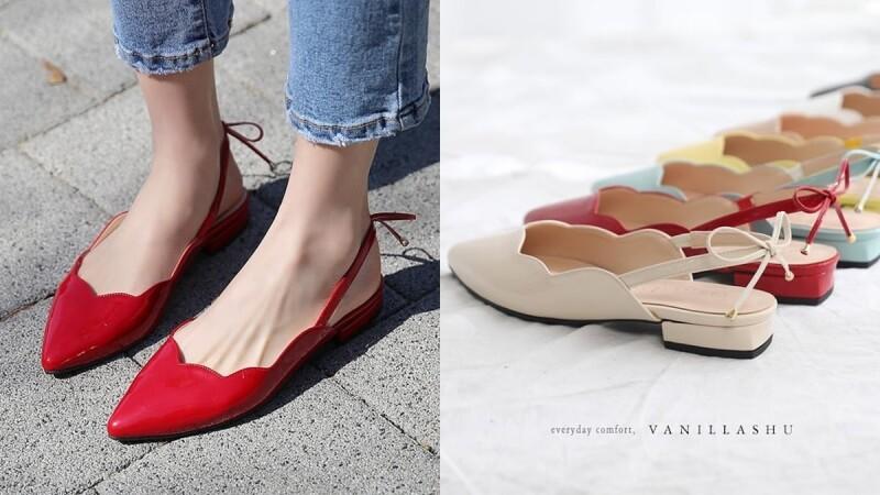 韓國平價女鞋再一間!清純系女本命「VANILLASHU」,必鎖定明星商品波浪型鞋款
