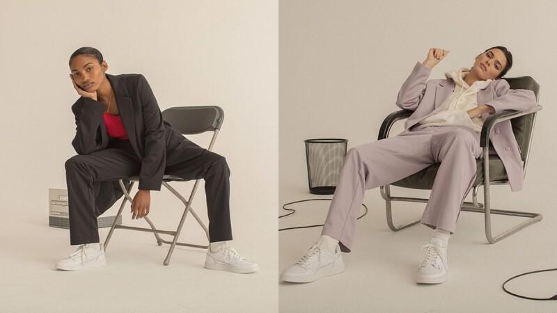 又美又潮的薰衣草紫西裝外套必須收!adidas Originals聯名荷蘭新銳設計師Daniëlle Cathari,台灣即將發售