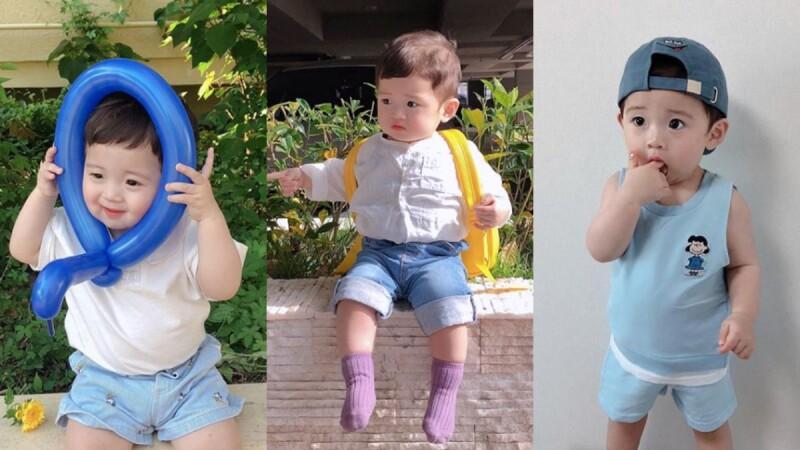 男寶寶我也可以!小小歐爸Sian的韓系萌OOTD絕對將改變你對男寶寶的穿搭侷限!