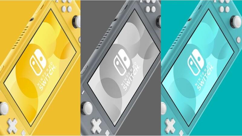 Switch新舊版大評比!任天堂推出全新「Nintendo Switch LITE」必須知道的3大亮點公開