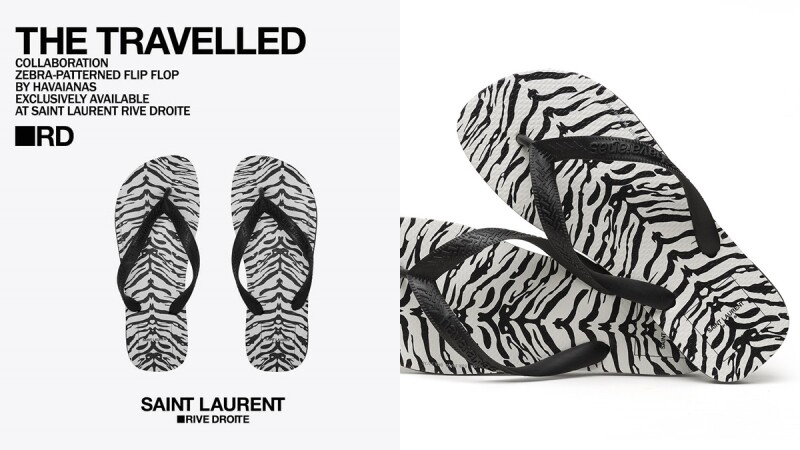 不用台幣兩千就能買到!基努李維也有了,SAINT LAURENT X HAVAIANAS時髦黑白夾腳拖,僅有這兩處獨家販售