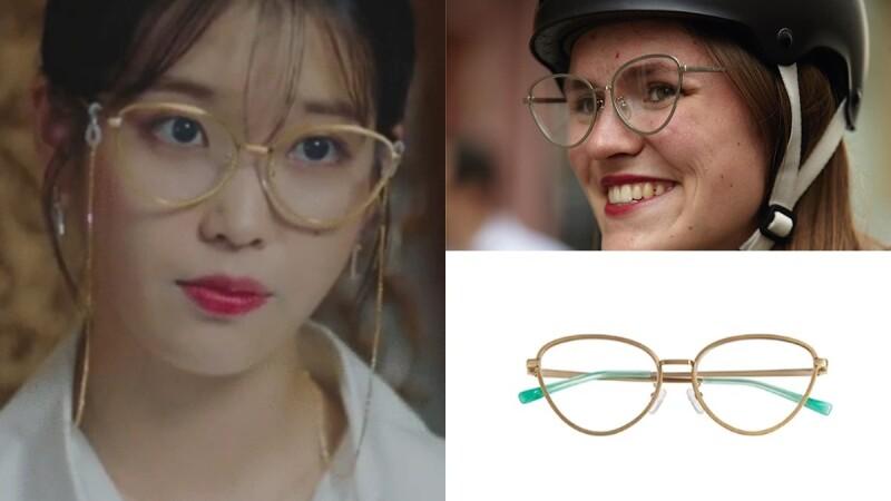 因為《德魯納酒店》IU配戴就爆紅!80年代為靈感的INSTANTFUNK貓眼眼鏡,不退流行的時髦單品