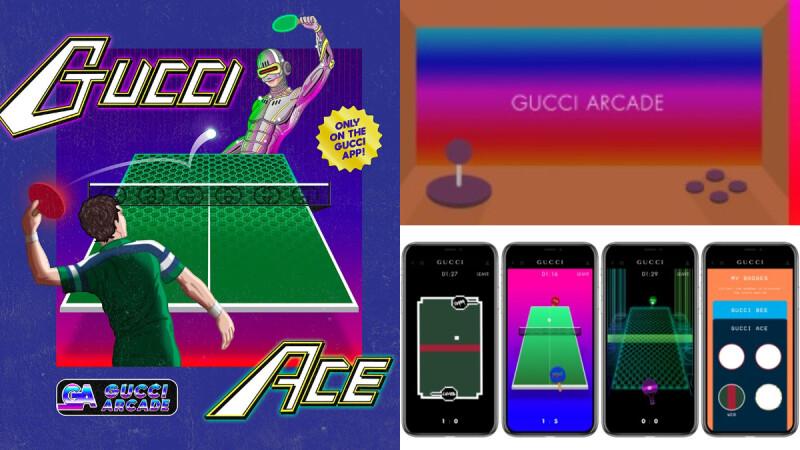 最時髦的手遊無誤!Gucci App推出全新遊戲廳功能,致敬小精靈等超經典復古電玩!