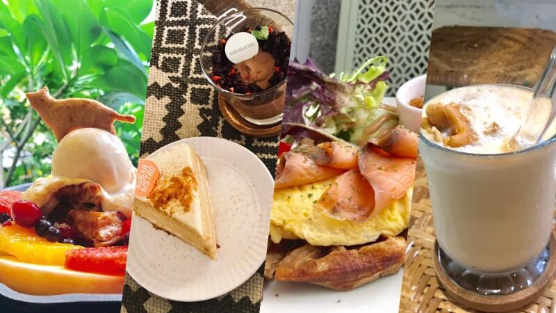 減肥也能大口吃!東門美食「小食糖Sugarbistro」隱藏版的低熱量早午餐,貓咪鬆餅、超美味的戚風蛋糕
