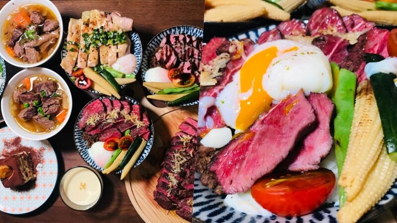 肉肉控的最愛!硬派主廚的軟嫩料裡推平價「舒肥牛排」,東門市場必吃隱藏版美食