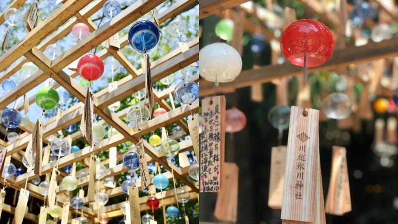 【MiKU玩日本】夏天到川越絕不可錯過冰川神社的「結緣風鈴祭」,讓戀愛心願隨風傳遞,脫單就靠這次