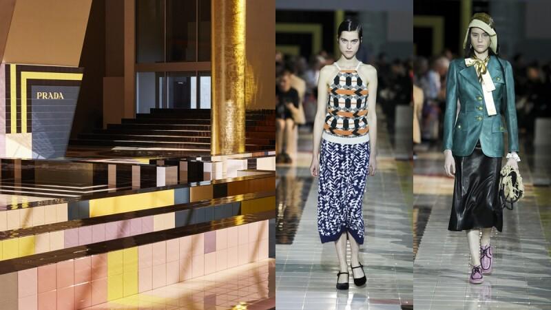 【米蘭時裝週】 Prada 接力米蘭時裝週,復古、典雅、簡約、率真,風格大檢測,看看妳是哪種類型的女人?