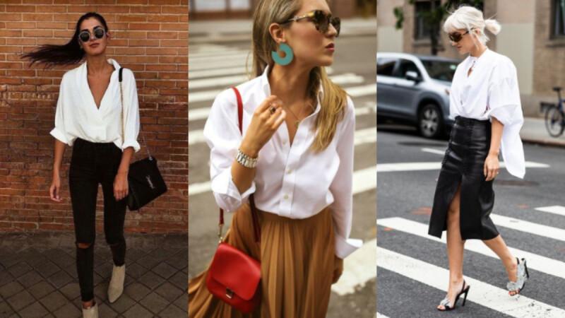 要穿就穿到淋漓盡致!最適合小資女上班穿搭的「白襯衫」4 LOOK!