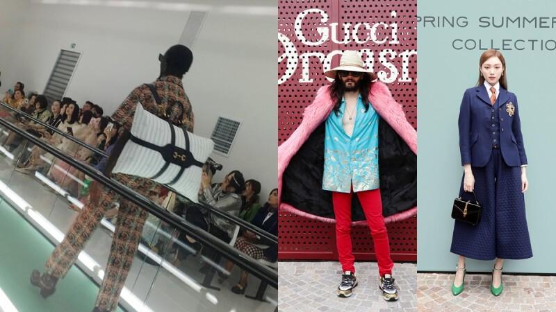 【米蘭時裝週】還有誰能比Alessandro Michele狂!GUCCI春夏大秀把枕頭變身時髦後背包