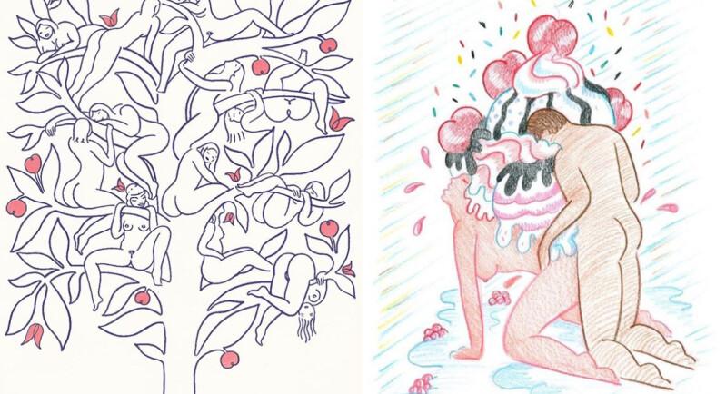 歡迎光臨性愛烏托邦!美國IG情慾插畫家,Alphachanneling:「情慾是一種神聖的表達儀式。」