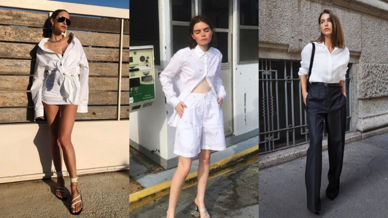 衣櫥中CP值最高的單品非襯衫莫屬!十種穿衣提案教你如何將一件白色襯衫穿出百變時髦造型!