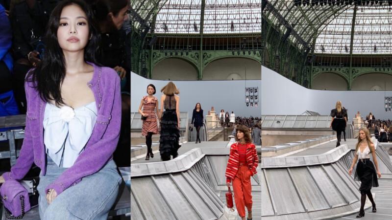 【巴黎時裝週】 天台屋頂、閣樓天窗,香奈兒打造花都巴黎女子的典型率性日常。