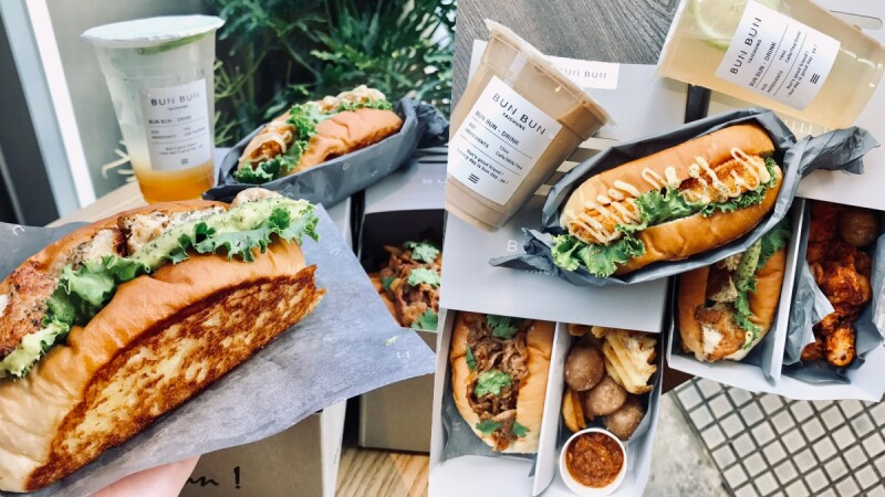 【台中美食】《BUNBUN棒棒》推出BUN麵包新吃法,酥脆奶油麵包搭配滿滿餡料,好吃又好拍