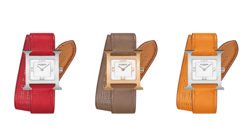 Hermes愛馬仕H Hour腕錶推出2019秋冬限定錶帶,鏤空細節超優雅!