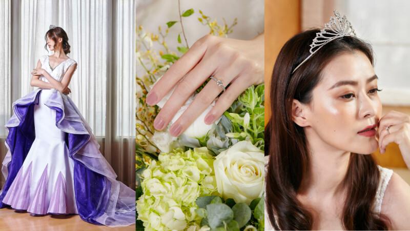 台灣優秀的新銳設計師們把I-PRIMO的夢幻星空鑽戒幻化成絕美婚紗了!每針每線都是新人們最浪漫的愛情回憶~