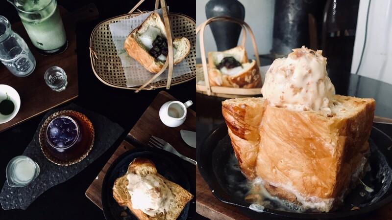 【板橋美食】《Merci Vielle》質感系老宅咖啡廳,隱藏著酥脆美味的甜點、飲品