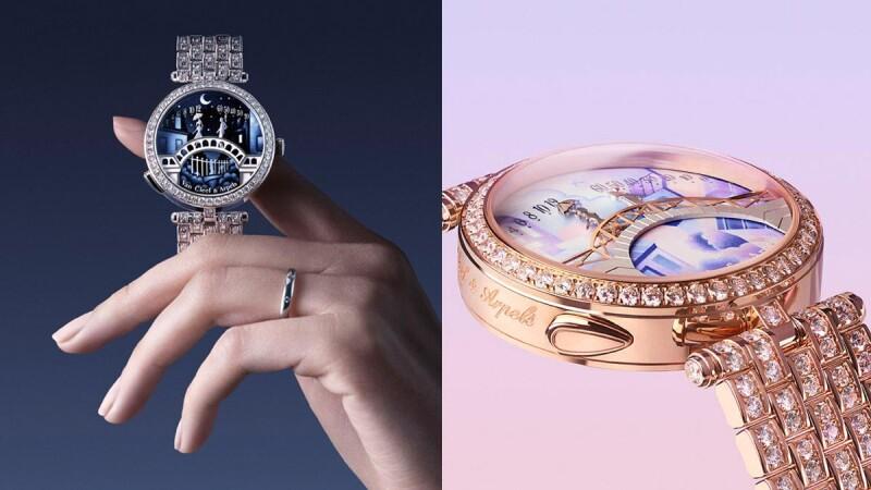 梵克雅寶的愛情續篇,新版戀人橋腕錶,讓人一吻定情!