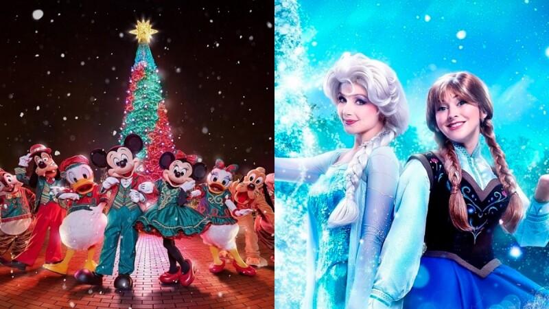 【2019香港迪士尼樂園】聖誕節將變身童話雪國!艾莎及安娜現身、城堡前飄雪等5大亮點搶先看