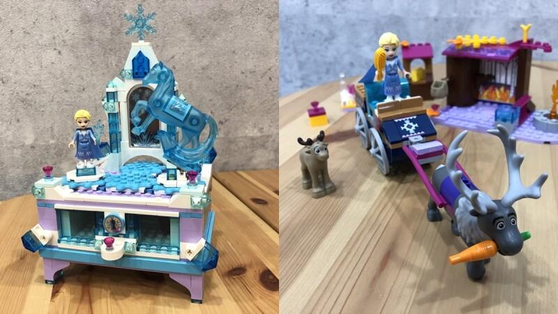 樂高X迪士尼《冰雪奇緣2》積木太值得收藏!冰雪宮殿珠寶盒、兩層樓魔法樹屋、超大隻雪寶會轉頭+招手