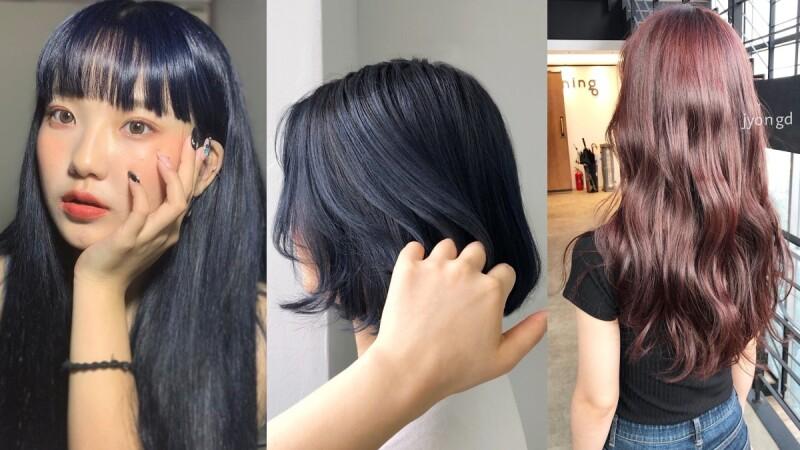 不只唇彩流行霧面!2019秋冬染髮也要「絲絨」質地,顯白、修容、添氣質超推薦絲絨午夜藍