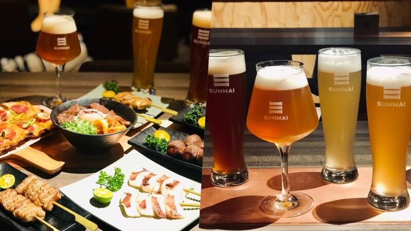 想要微醺必衝!SUNMAI BAR金色三麥啤酒吧推「啤酒女力開戰」,全新5款風味啤酒限量登場