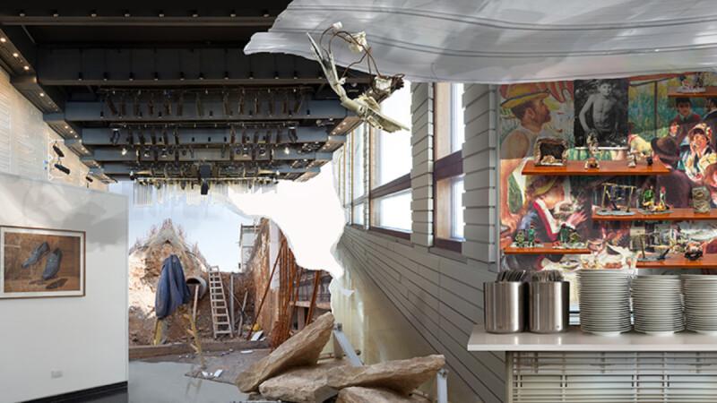 藏在精品飯店水泥牆後的集體創傷,以色列藝術家《戰後的沉默》個展出土被噤聲的戰俘記憶