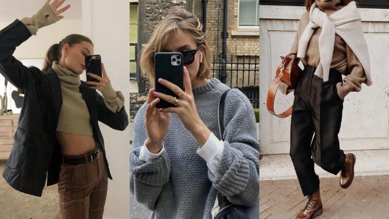 時髦與保暖同時兼具!10招毛衣穿搭提案,讓你輕鬆遠離胖嘟嘟的穿衣窘境!