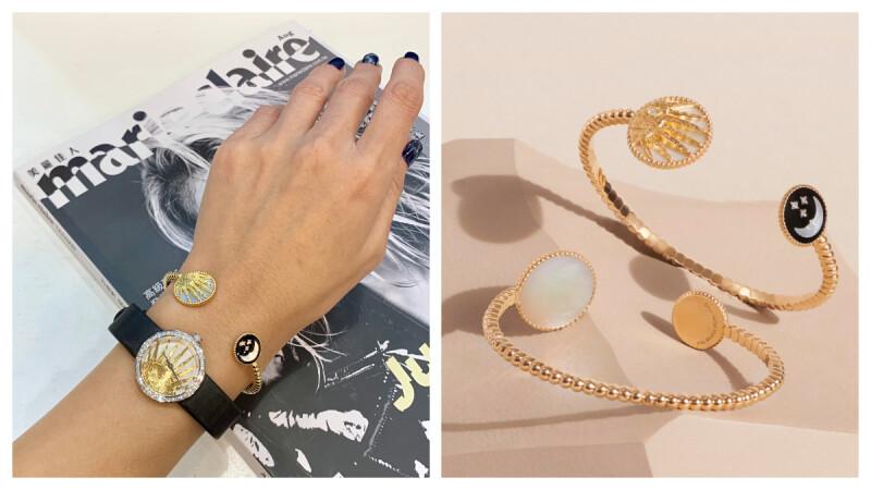 【試戴報告】一面是太陽,一面是月亮,Dior Rose Céleste 珠寶系列飄仙氣,不只詩意盎然,還很浪漫!(內附實戴影片)