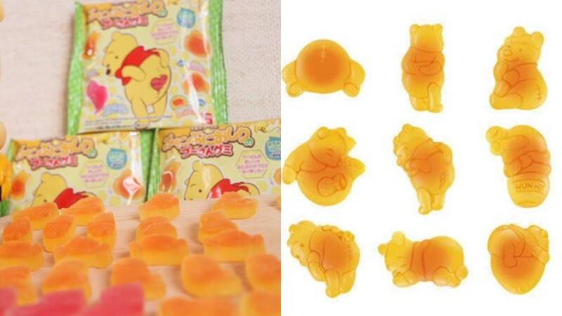 呼叫維尼控!日本推出「小熊維尼軟糖」10款超萌維尼登場,還有粉紅色限定版
