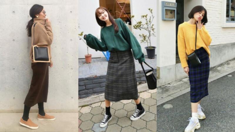秋冬穿搭好選擇,用顯瘦又修身的「直筒裙」搭出 3 種風格!