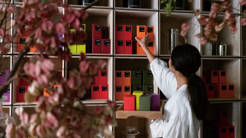 台北最有質感花店與茶四季的完美交響曲