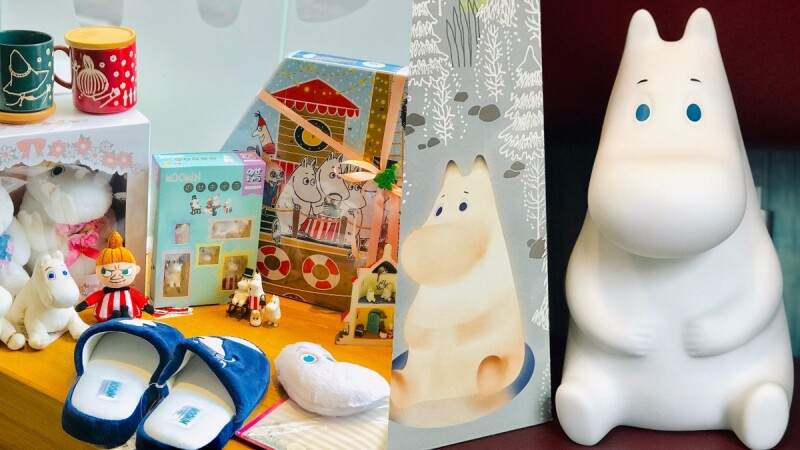 聖誕禮物推薦!嚕嚕米系列交換禮物300~1000元大公開,嚕嚕米夜燈、聖誕倒數日曆