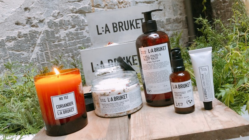 來自瑞典的溫柔保養L:A BRUKET正式開賣,必買推薦:潔膚露、護手霜、浴鹽、精華液、身體乳(含完整全品項清單與價錢)