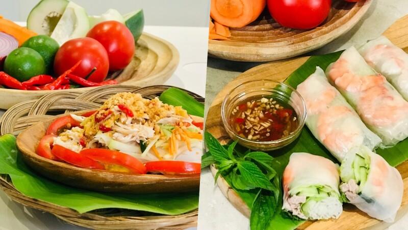 減肥不挨餓!南洋料理懶人「低卡食譜」泰式風味、越式春捲美味秘訣大公開
