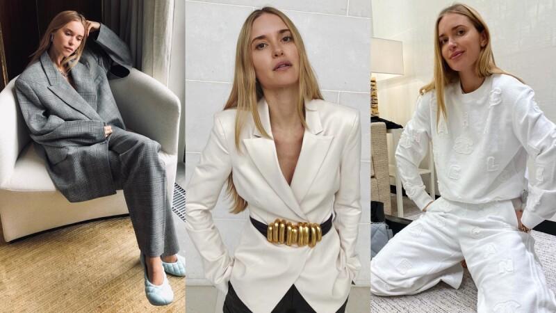 素色開襟衫、套頭毛衣,她就是基本款穿搭的強者!取經Pernille Teisbaek的俐落穿衣美學