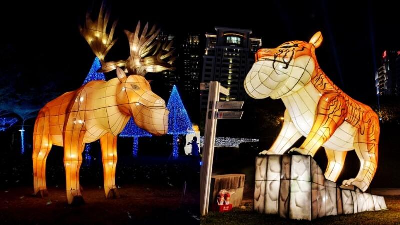 2020台中文心森林公園燈會萌翻!30隻巨型戽斗動物佔據副燈區,必拍花燈、交通資訊總整理
