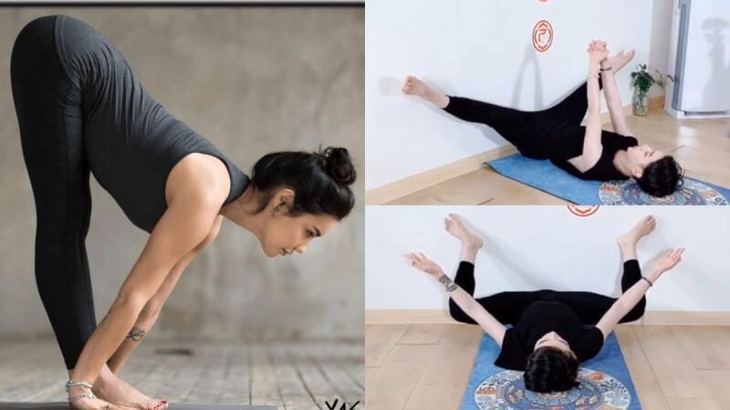 這4個超簡單高效伸展操,每天不僅瘦小腹、連腿都變細了!