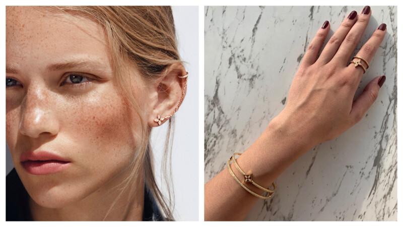 【試戴報告】這個耳環我可以!Louis Vuitton 推出 Idylle Blossom 珠寶系列,閃亮亮的經典花卉圖紋實在太生火!