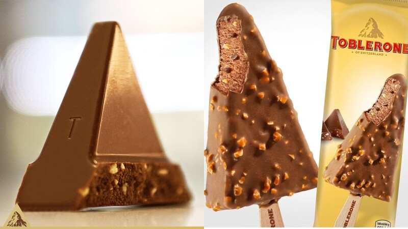 台灣也買得到!Toblerone瑞士三角巧克力化身冰淇淋,香濃巧克力與杏仁完美搭配
