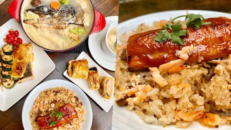 懶人鮭魚料理推薦!美威鮭魚推「鮭魚藜麥油飯、鮭魚頭海鮮鍋」30分鐘內輕鬆完成一桌好菜