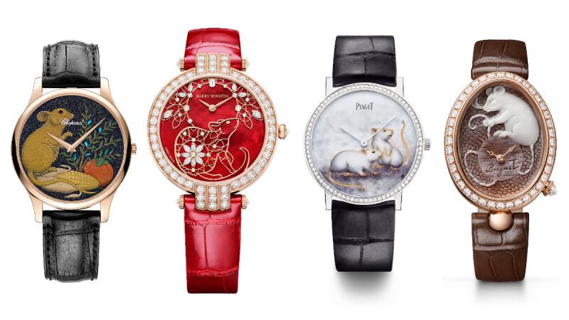 農曆年求好運就是要金鼠腕錶戴好戴滿,不只象徵成功、聰穎與活力,還可以招財、迎富貴!