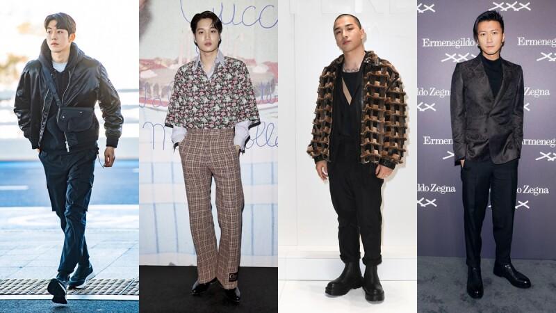 2020男裝秋冬時裝週正展開!太陽、EXO Kai、謝霆鋒、南柱赫…男神們機場、看秀穿搭都在這