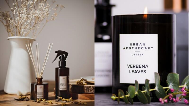 2020年居家香氛新品推薦!找好聞有質感擴香、香氛噴霧、蠟燭請鎖定100BON、Urban Apothecary、CULTI MILANO全新春夏香氣