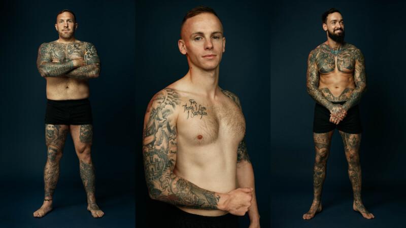 刺青的故事Tribute Ink:皇家英國軍團服役軍人們的紋身記憶