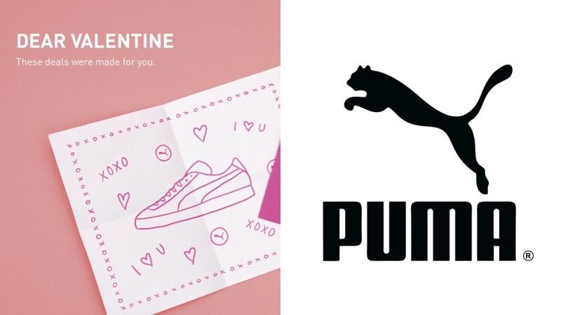 現在加入會員太划算!PUMA開設官方購物網站及APP,更加碼推出情人節專屬活動