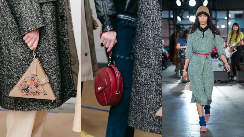 2020秋冬紐約時裝週|水原希子復古印花洋裝走上秀台!COACH秋冬系列各式小巧手拿包成為最大亮點