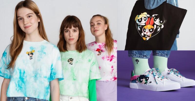 BershkaX飛天小女警聯名系列開賣!「今天的時尚過關了嗎?」時尚問題就讓花花、泡泡、毛毛共同守護吧~